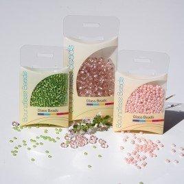 'Simple' Love Bird Pink Czech Glass Seed Bead Colorway