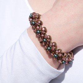 Mini Studio - Copper Rose Bracelet Kit