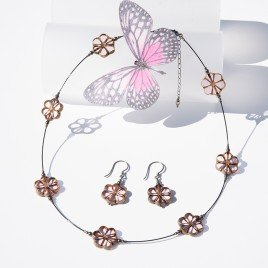 Mini Studio – Crimp Style necklace Kit – Pink Lotus