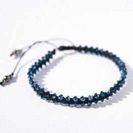 Mini Studio - Designer Macramé Crystal Bracelet - FREE Instructions