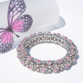 Mini Studio - Floris Bangle Bead Kit - Pink Rose