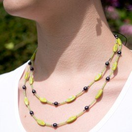 Mini Studio - Lime Necklace Bead Kit