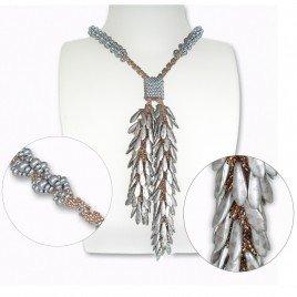 Mini Studio -  Silver Bubbly Lariat Bead Kit