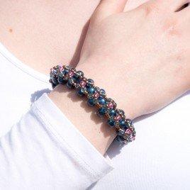 Mini Studio - Turquoise & Pink Bracelet Kit
